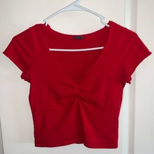 Red Gina top from Brandy Melville